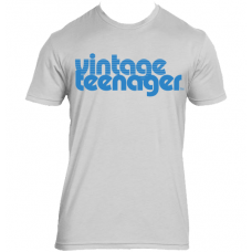 """Vintage Teenager Men's """"Cool Blue"""" Shirts"""