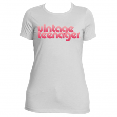 "Vintage Teenager Women's ""Summer Watermelon"" Logo Tees"