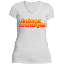 "Vintage Teenager Women's ""70's Sunset"" Tee Collection"