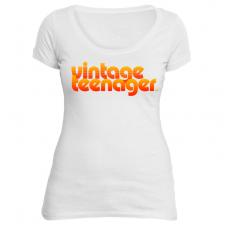 """Vintage Teenager Women's """"Soft Scoop"""" Tees"""