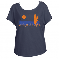 "Vintage Teenager Women's ""Surfer"" Dolman Shirts"