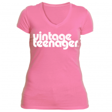 "Vintage Teenager Women's ""Rock Candy"" Tee Collection"