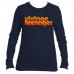 "Vintage Teenager Women's Crew Jersey ""70's Sunset"""