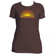 "Vintage Teenager Women's ""Forever Sunset"" Tees"